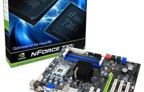 Placa mãe ATX da EVGA com GeForce 9300 e S/PDIF