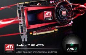 Rendimento e especificações da Radeon HD 4770.