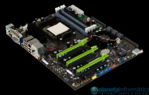 Primeiras imagens da nova placa mãe nForce 980a SLI de NVIDIA