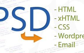 CONVERSOR DE PSD para HTML e CSS
