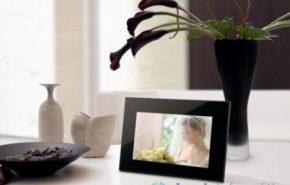 [CES 09] Sony S-Frame é o novo porta retrato digital da Sony