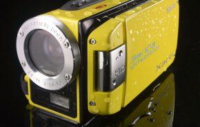 Filmadora a Prova d'Água com Resolução HD da Sanyo