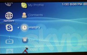 Skype já oficial na PSP com o novo firmware 3.90