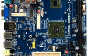 VIA apresenta placa com Nano E