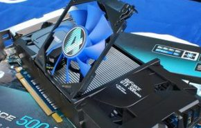 Detalhes da Galaxy GeForce GTX 550 Ti Display4.