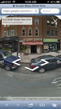 360595 google maps ios 6 - Google Maps Street View já disponível no iPhone 5 e dispositivos iOS 6.