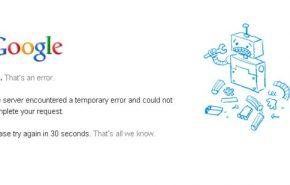 O Google fica fora do ar e deixa internautas confusos no Brasil