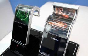Telas flexíveis OLED da Samsung no primeiro semestre de 2013