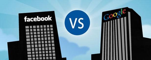 """Facebook vs google1 - Google PROVOCA: """"Facebook é uma rede social do passado"""" Concorda?"""