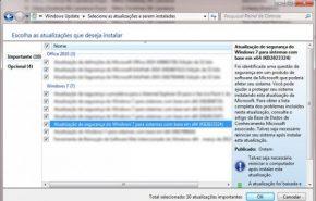 Atualização do Windows 7 não deixa usuários inicar o sistema