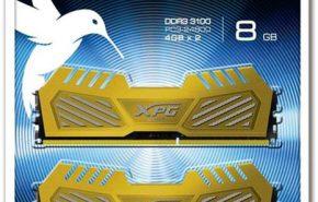 ADATA lançou seu kit de memória DDR3 XPG V2 a 3.100 MHz