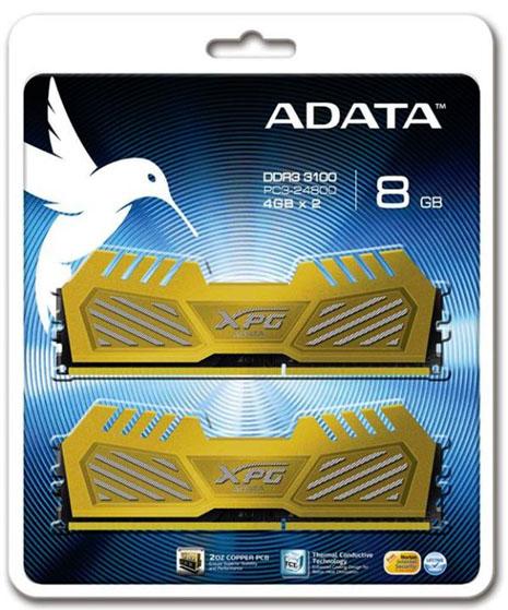 adata ddr3 3100 - ADATA lançou seu kit de memória DDR3 XPG V2 a 3.100 MHz