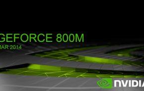 NVIDIA apresenta a GeForce 800M