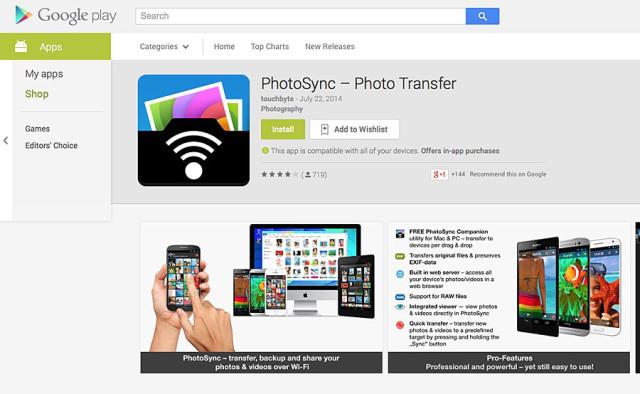 PhotoSync para Android - Apple publica sua guia para migrar de Android a iOS