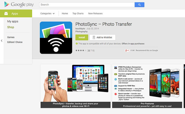 PhotoSync-para-Android