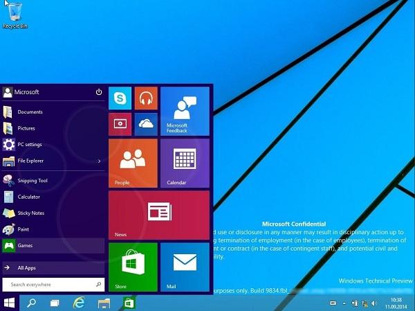 windows 9 escritorio - Windows 9 seria grátis, afirma um executivo de Microsoft