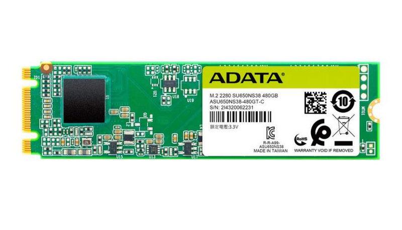 ADATA presenta la unidad SSD Ultimate SU650 M.2 2280 SATA 2 - ADATA apresenta SSD Ultimate SU650 M.2 2280 SATA