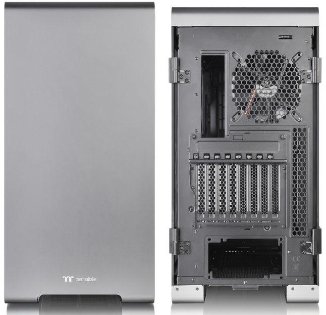 Thermaltake A700 Aluminum TG 1 646x623 - Thermaltake A700 Aluminum TG: Torre completa 'Premium' com bahías PCI rotativos