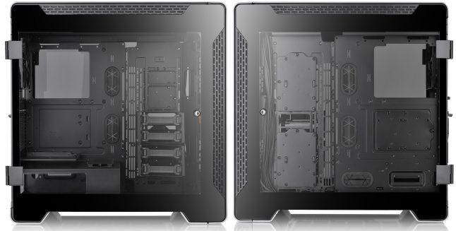 Thermaltake A700 Aluminum TG 2 646x327 - Thermaltake A700 Aluminum TG: Torre completa 'Premium' com bahías PCI rotativos